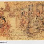 扁鹊治齐桓侯图(现代)