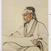 著名画家蒋兆和绘制名医像