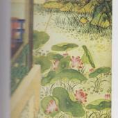 清·夏景图(局部)