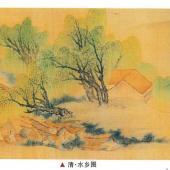 清·水乡图