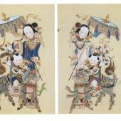 清·杨柳青年画