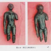 西汉人体经络木人