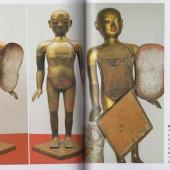 清代及民国时期铜人图一组